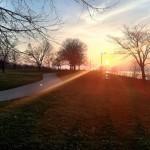 Lakewood park sunset
